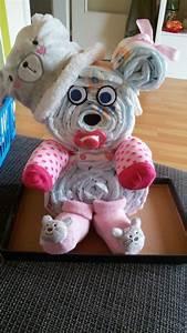 Baby Geschenk Basteln : windel teddy selber gemacht pinterest baby geschenke baby und geschenke ~ Frokenaadalensverden.com Haus und Dekorationen
