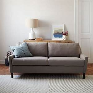 Everett sofa 76quot west elm for Sectional couches everett wa
