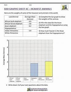 Bar Graph Worksheets Fifth Grade