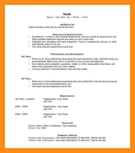 Resume Objective For Stay At Home by 12 13 Resumes For Stay At Home Exles