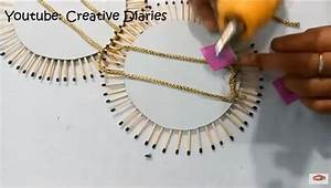 How To Make Matchstick Wall Hanging At Home Craft Community