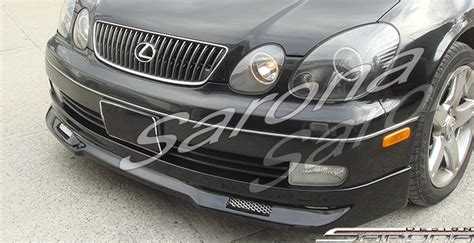 custom lexus gs400 custom lexus gs300 400 sedan front add on lip 1998 2005