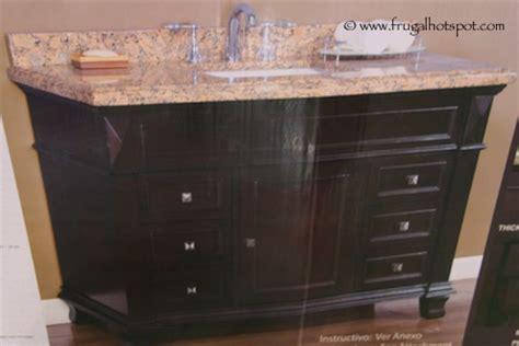costco sale mission 48 single sink vanity