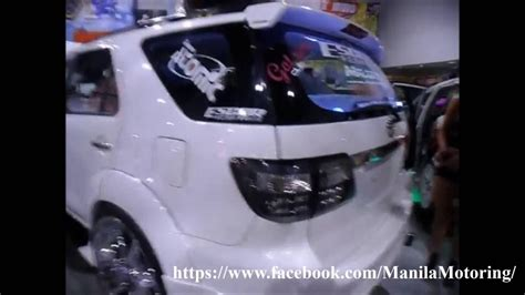 Total Modification by Toyota Fortuner On Firland Audio And Blinged Rims Total