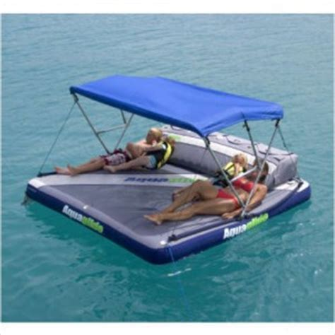 raft with canopy aquaglide airport raft boat tow aquatop canopy