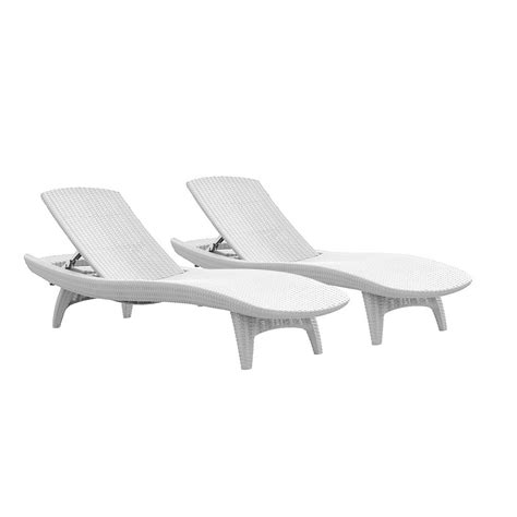chaise longue pvc blanc brilliant plastic chaise lounge for your home 2018