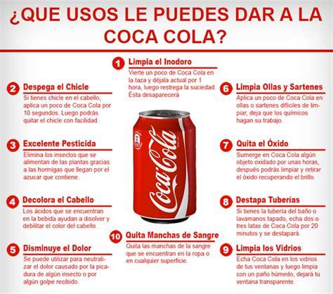 si e coca cola 20 usos prácticos de la coca cola que demuestran que no es