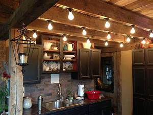 Kitchen, Lights, For, A, Rustic, Cabin