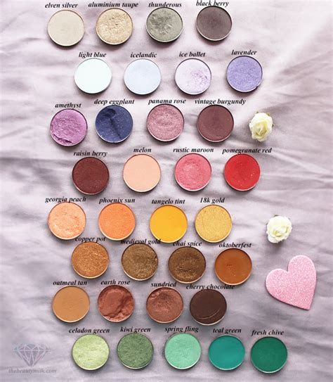 coastal scents pot eyeshadow singles collection swatches and reviews copper pots coastal