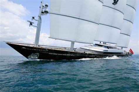 Biggest Boat Ever Designed maltese falcon third largest sailing yacht in the world