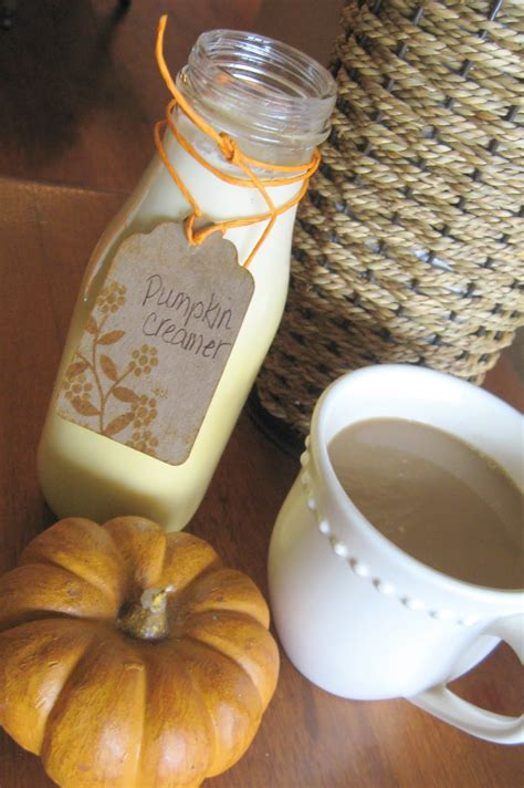 A good coffee creamer should consist of two basic foundation ingredients: Next to Heaven: Homemade Pumpkin Coffee Creamer