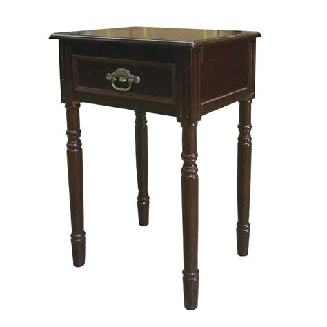 end table ore international antique square end table by oj commerce h 129n 70 26