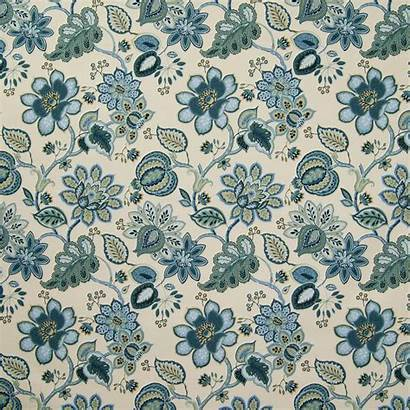 Floral Fabric Drapery
