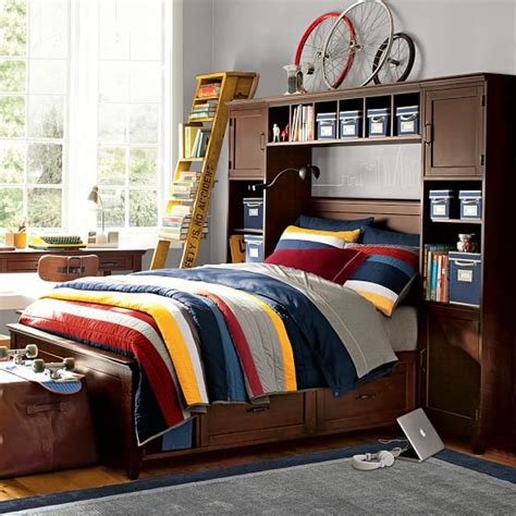Bookcase Tower Set by Hton Storage Bed Bookcase Tower Bed Set Pbteen