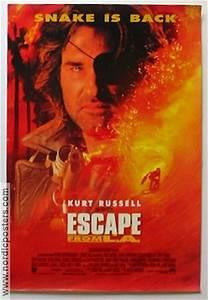 ESCAPE FROM LA Movie poster 1996 original NordicPosters