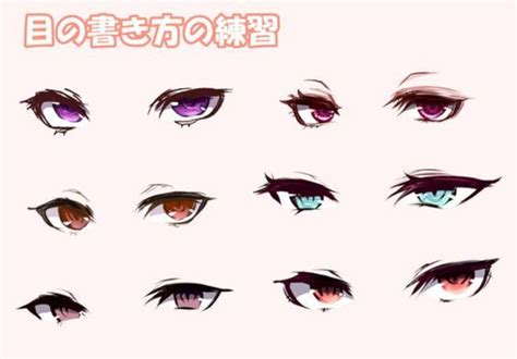 image result  anime eyes drawing reference