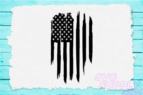 Please, feel free to share this flag with your family and friends! American flag distress vertical svg for america tshirt By ...