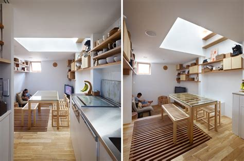 loft estrecho en japon arquidiaria