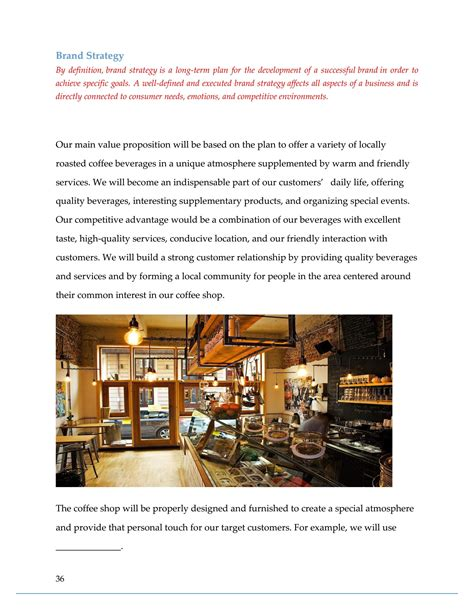Graphicriver also has great premium templates for coffee it makes a nice alternative to a coffee shop powerpoint template for free download. Coffee Shop Business Plan Template Sample Pages - Black Box Business Plans