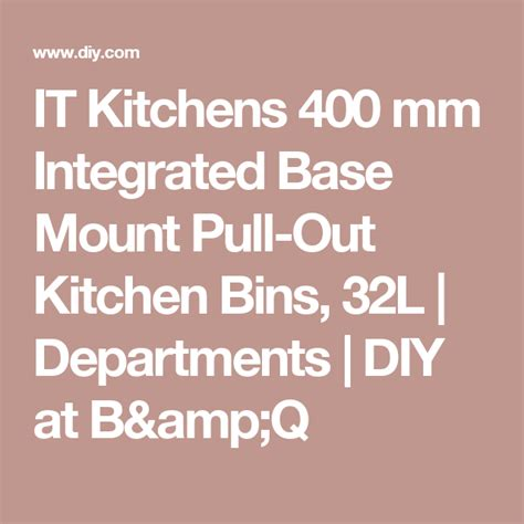 kitchens  mm integrated base mount pull  kitchen