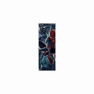Papier Peint Sticker : papier peint porte enfant spiderman 717 stickers muraux ~ Premium-room.com Idées de Décoration