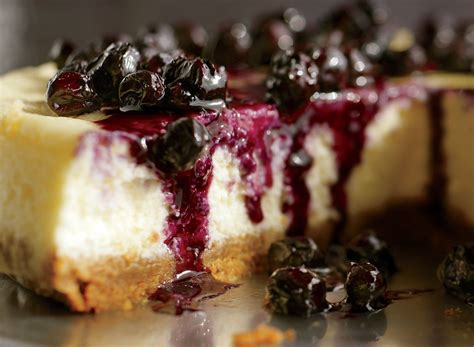 If you do, be sure to add 1/2 tsp of baking soda so they puff up! Ricotta Cheesecake With Warm Blueberries | Recipe (With images) | Dessert recipes, Healthy ...