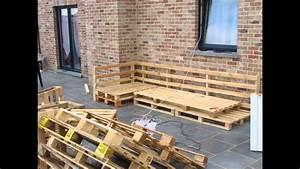 le salon de jardin fabrication maison youtube With canape en resine exterieur 16 5 projets en palette pour le jardin