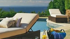 Matelas Bain De Soleil Epais : 12 chaises longues et bains de soleil ~ Melissatoandfro.com Idées de Décoration