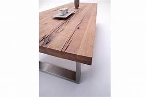 Table Bois Massif Design : table bois massif contemporaine ch ne bassano cbc meubles ~ Teatrodelosmanantiales.com Idées de Décoration