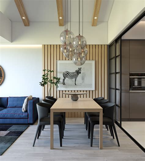 Trendy Dining Room Designs Combined With Modern And