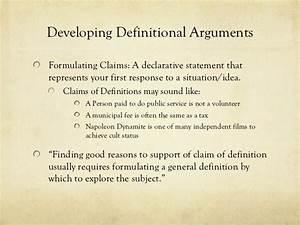 argumentative essay meaning