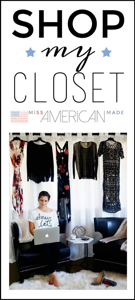 shop my closet make money your own miss american made