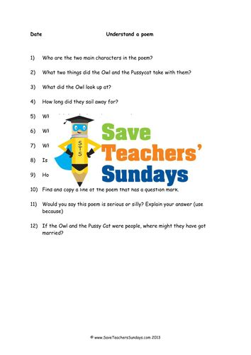 year 3 4 comprehension lesson plan and worksheets 4 levels of difficulty by