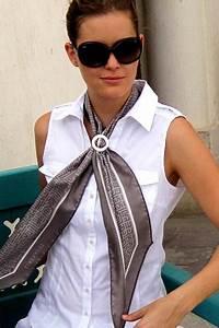 Comment Mettre Une Cravate : comment attacher un foulard extra long et tr s fin ~ Nature-et-papiers.com Idées de Décoration