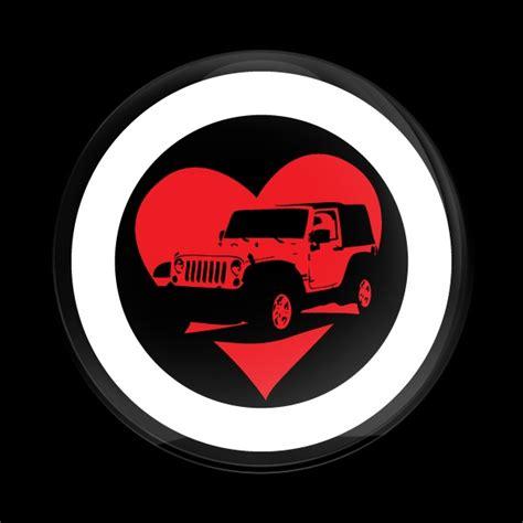 jeep heartbeat dome badge i heart jeep 01