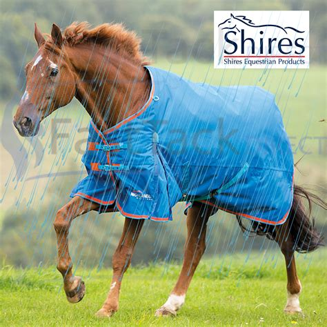weight turnout medium horse waterproof rug shires 200g highlander