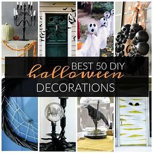 Best, 50, Diy, Halloween, Decorations