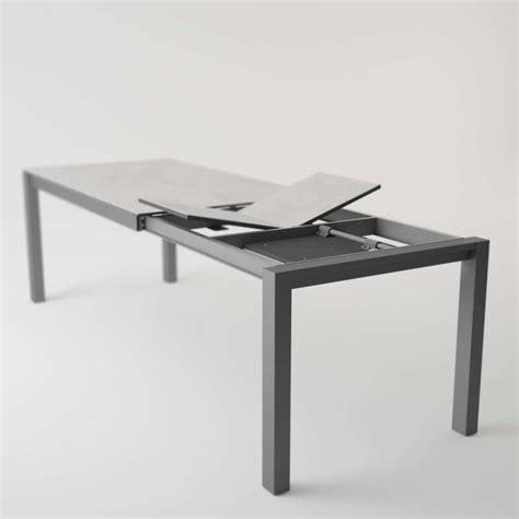 table cuisine 4 pieds table moderne en céramique extensible quadra 4 pieds