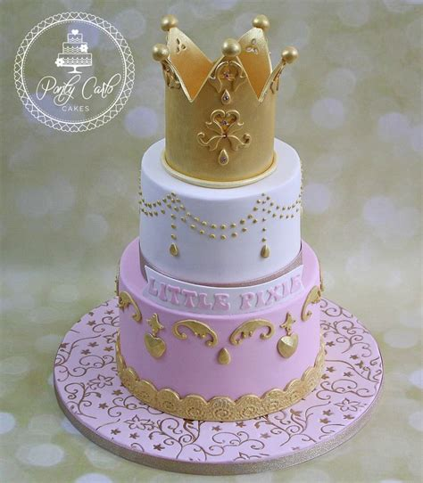 crown cake ideas  pinterest princess crown
