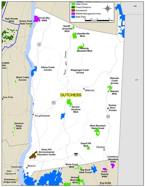 dutchess county map nys dept  environmental conservation