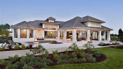 exterior landscape one home building plans