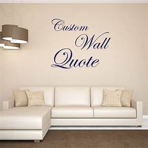 Custom wall decals quotes quotesgram for Custom wall decal