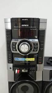 Equipo De Sonido Sony Genezi Mhc Gtr888 Excelente