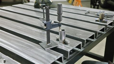channel top welding table