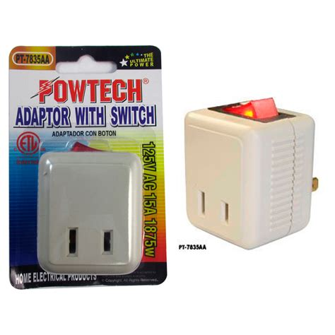 Single Port Power Outlet Wall Tap Adapter Beige Off