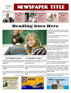 create your own newspaper template - business newspapers print and digital makemynewspaper