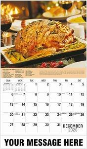 Large Wall Calendar 2020 2020 Recipes Promotional Calendar Wall Calendars For