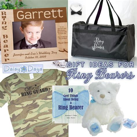 wedding gift ideas for flowers and ring bearers