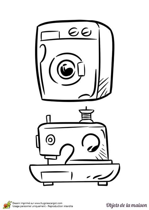 la maison de la machine a coudre coloriage la machine 224 laver et 224 coudre