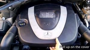 Diy  Mercedes Benz 3 5l V6 Air Filter Replacement  10min